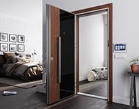 Tepe Safe Çelik kapı