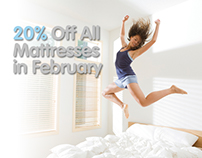 MouleTec Mattresses Home Page Banners