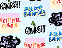 Disney Stickers: Quotes