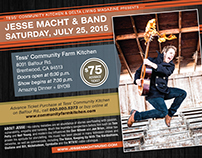 Jesse Macht & Band : Magazine ad / flyer
