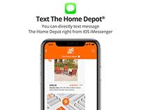 Apple™ Business Chat/iMessengerIntegration Home Depot