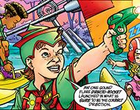 Galactic Girl Guide comics color