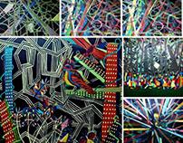 Paintings - acrylic on canvas