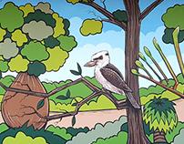 Warwick Grove & Warwick SHS collaboration mural