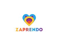 Zaprendo logo and branding