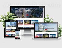 Website bất động sản landcenter.vn