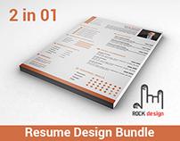 Resume Design Bundle 2 in 1