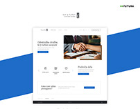 Company website | Client: Čuk Pleško