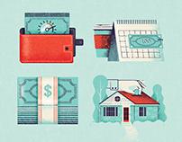 Mortgage & Money Icons