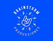 Brainstorm Producciones   Brand Identity Design