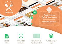 Delifoody | Food Delivery & Restaurant Mobile