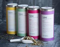 Nubia Spa Tea Packaging