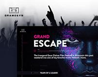 Dramosyn - New Web Site Design