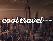 Cool Travel Logo and Brand Identity