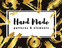 Gold Brush Hand Made
