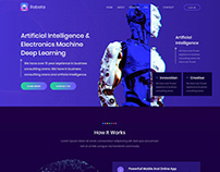 Robotizer - Chatbot & AI Startup Agency Template