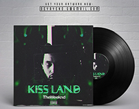 THE WEEKND - KISS LAND | Album Artwork