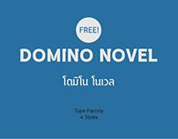 WP DOMINO novel Typeface