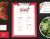 Low-Cal Calzone Zone