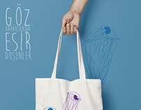 illustration - totebag