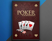 Poster of poker tournament