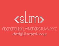 SLIM | FREE Typeface