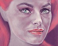 . Italian Cinema (digital painting) .