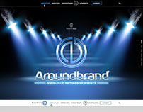 "Landing page for ""Aroundbrand"""