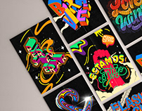 Lettering+illustration collection 2020
