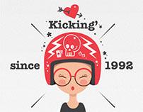 Kicking since 1992