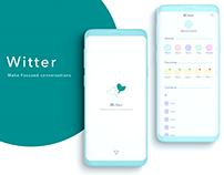 Witter-Mobile App UI Design
