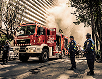 MXFD - Mexican Fire Department in action
