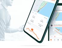 Professional Running Tracking App