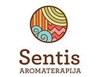 Sentis Aromatherapy Branding