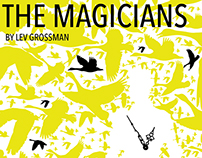 The Magicians by Lev Grossman, Conceptual Book Cover