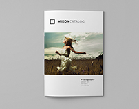 Mikon - Photography Portfolio A4 Catalog
