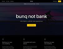 New website bunq