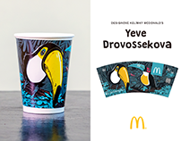 Special design for McDonalds cups