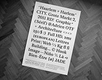 HAARLEM AM TYPEFACE