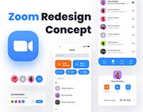 ZOOM | UI & UX - Redesign