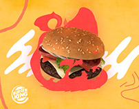 SHUT UP AND CHEW YOUR WHOPPER - Burger King
