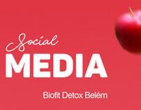 Mídias sociais - Biofit Detox Belém 2018.1