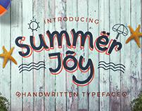 Summer Joy Handwritten Typeface