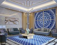 Luxury Living Room In Saudi Arabia