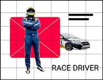 Race Driver personal presentation