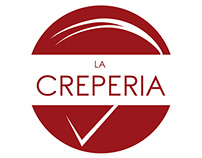 La Creperia - Logo, Identity, Menu