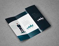 Double Gatefold Brochure Mock-Up