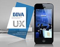 BBVA Re-Design Mobile Bank App
