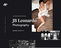 JB Leonardo Photography Brand Identity + Website