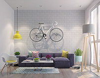 SMALL LIVING ROOM /VRAY TRAINING/